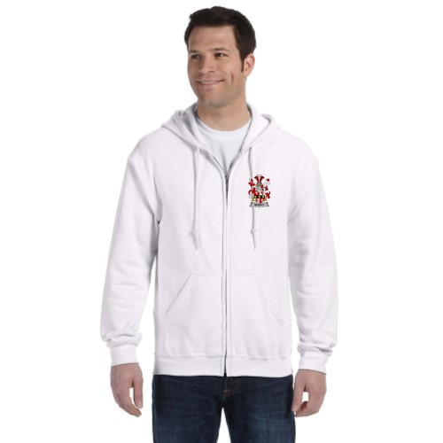 Personalized Coat of Arms Adult Full-Zip Sweatshirt
