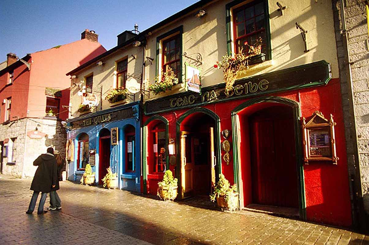 Quays Pub, Galway Photographic Print