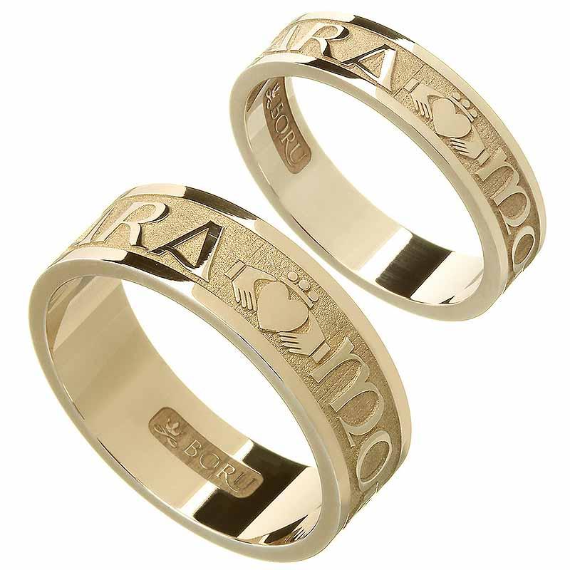 Irish Rings - Ladies Sterling Silver Mo Anam Cara Ring My Soul ...