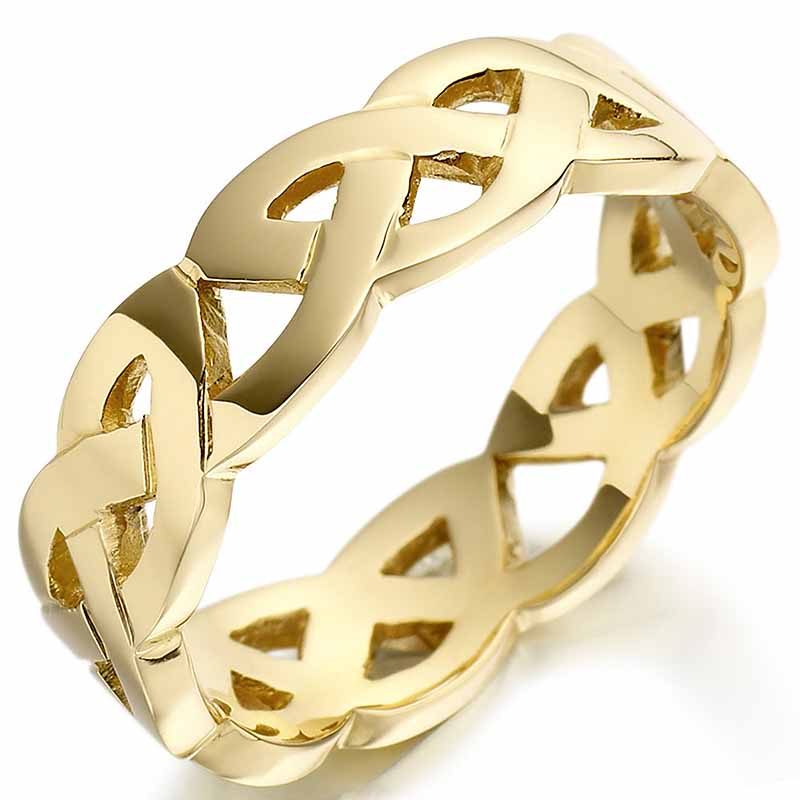 irish wedding ring mens gold celtic trinity knot wedding. Black Bedroom Furniture Sets. Home Design Ideas