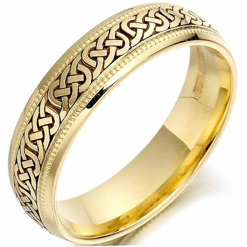 Celtic Mens Weding Rings 030 - Celtic Mens Weding Rings
