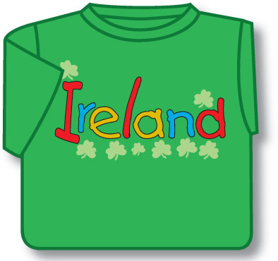 Kids Ireland Irish T-Shirt
