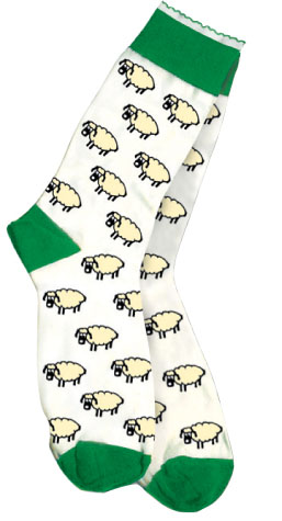 All Over Sheep Ladies Socks