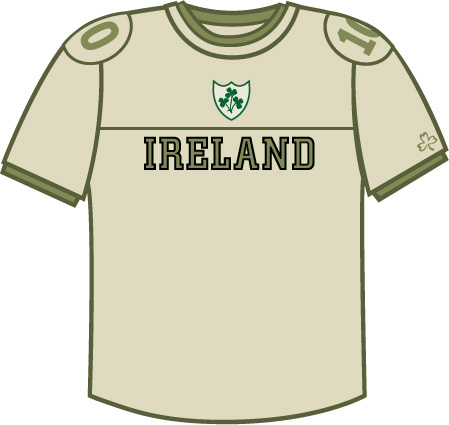 Irish T-Shirt - Ireland Combat (Sand)
