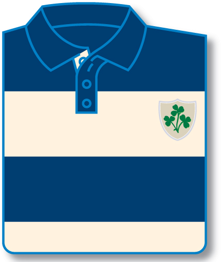 Shamrock Shield Rugby Shirt