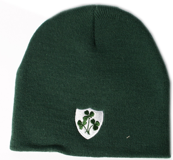 Irish Rugby Knit Hat