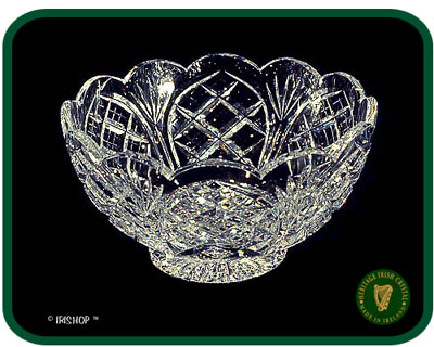 Irish Crystal - Heritage Irish Crystal 6 inch Footed Party Bowl