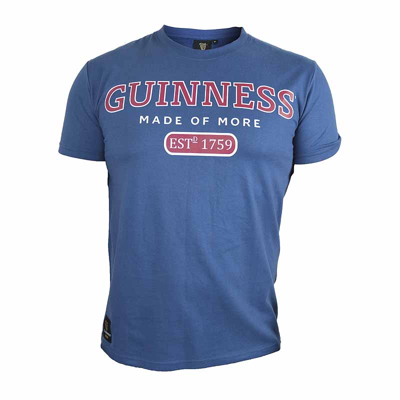 Irish T-shirts | Guinness Blue Trademark Label Tee