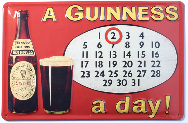 A Guinness A Day!