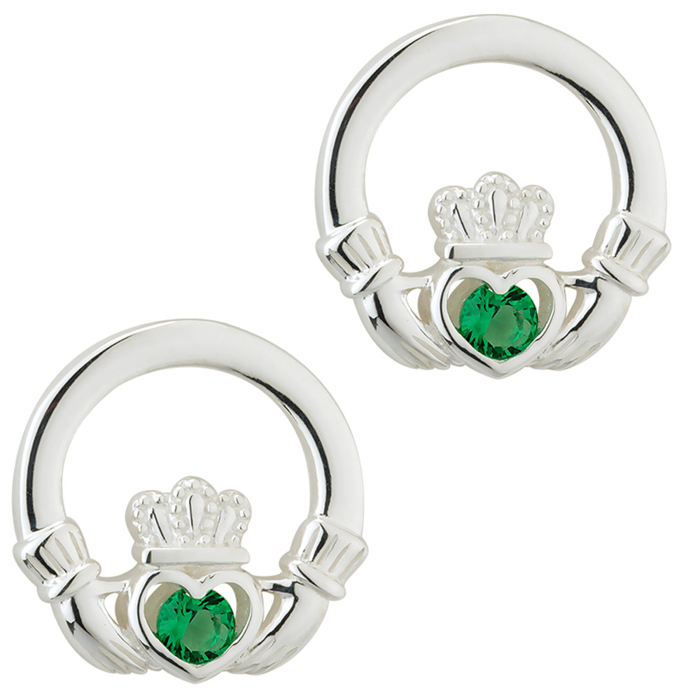 diamond jewelry white large collections emerald isle gold rings karat range claddagh stud earrings and