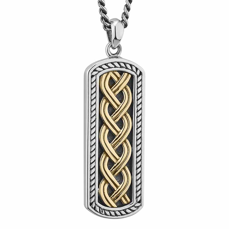shieldknot corners products four necklace works celtic viking shield irish pendant knot