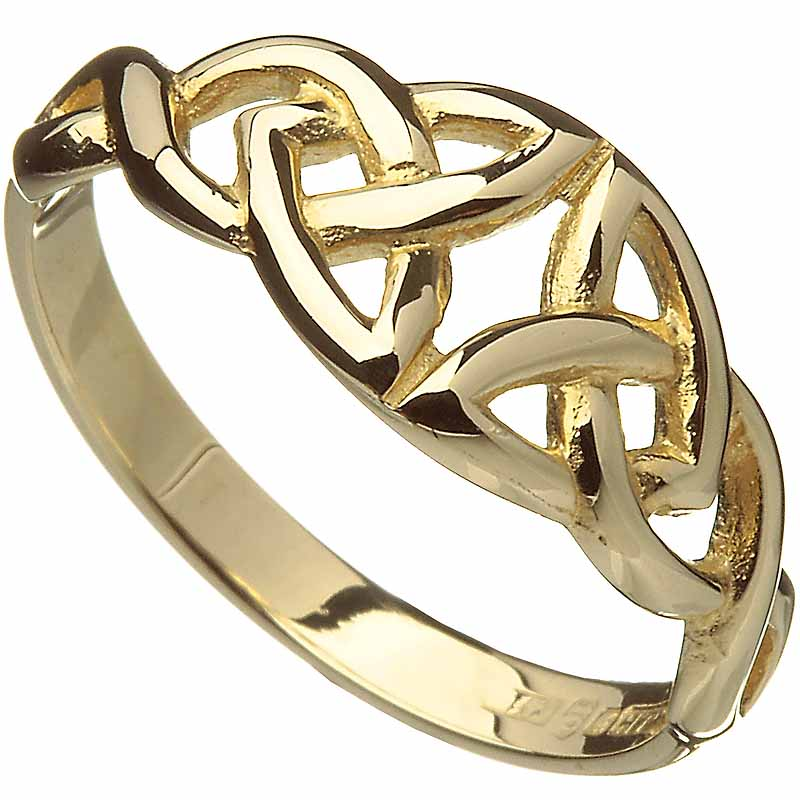trinity knot wedding bands