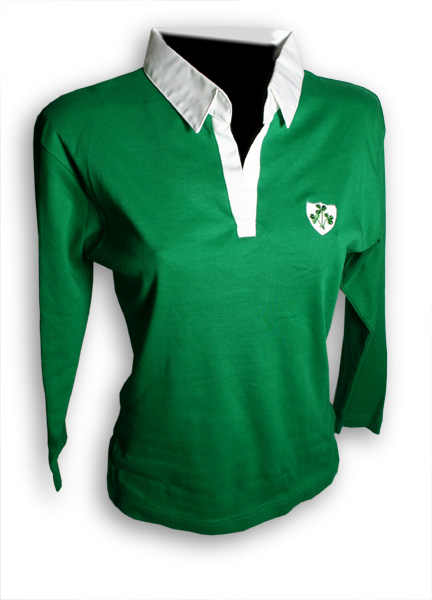 Ladies Ireland Rugby Shirt