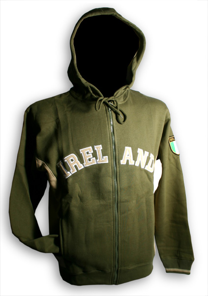 Ireland Hooded Zip Jacket