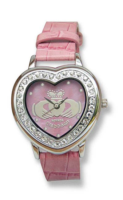 'Corra' Claddagh Heart Watch