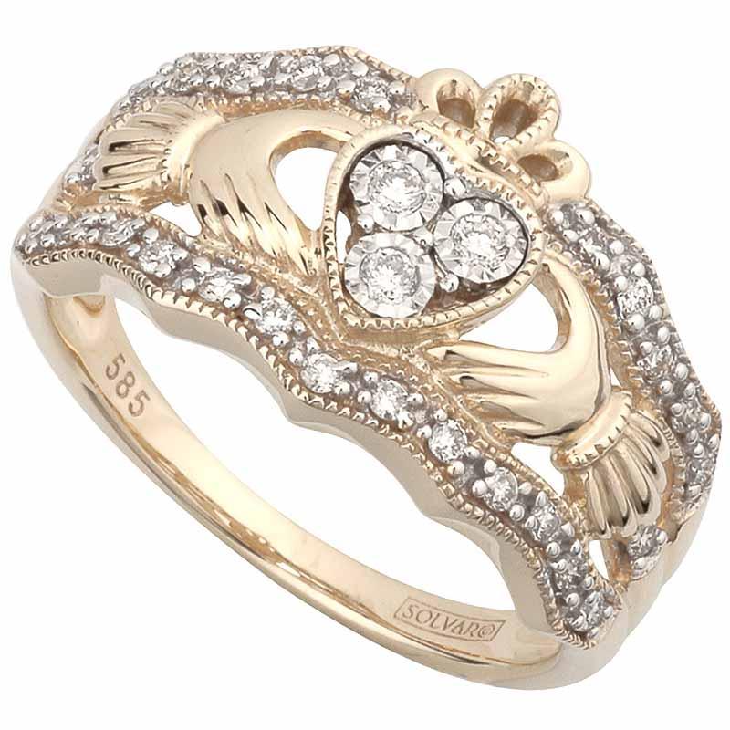 Irish Wedding Rings For Him Her Irish Wedding Bands