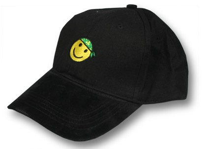 Smiley Shamrock Baseball Cap
