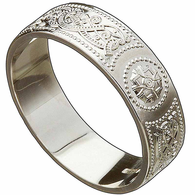 irish wedding ring celtic warrior mens wedding band at. Black Bedroom Furniture Sets. Home Design Ideas
