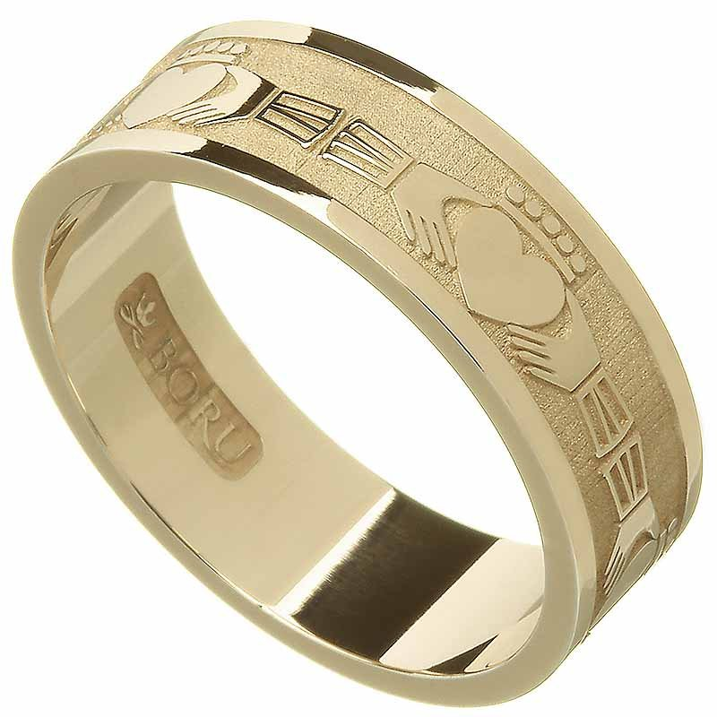 Claddagh Ring - Men's Claddagh Wedding Ring