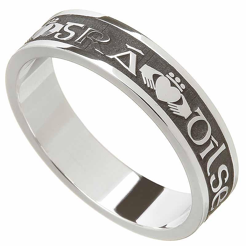 Claddagh Ring Ladies Gra Dilseacht Cairdeas Love