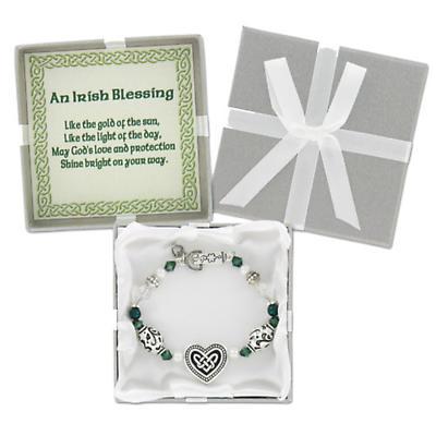 Irish Necklace - Irish Blessing Bracelet / Necklace