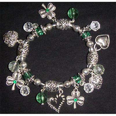Celtic Bracelet - Celtic Charm Stretch Bracelet