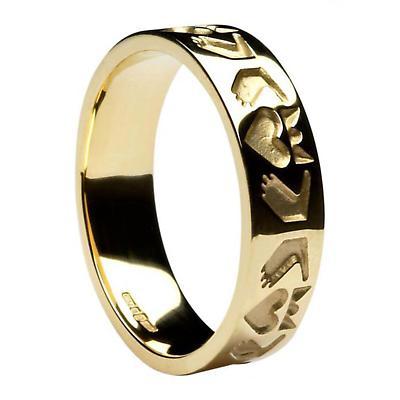 Claddagh Ring - Men's Friendship Claddagh