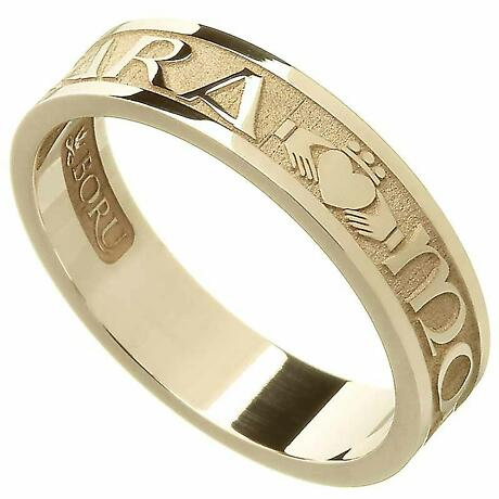 "Irish Rings - Ladies Gold Mo Anam Cara ""My Soul Mate"" Ring"