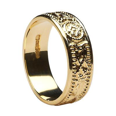 Ladies Celtic Warrior Court Wedding Ring
