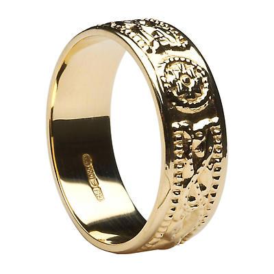 Celtic Ring - Men's Celtic Warrior Court Wedding Ring