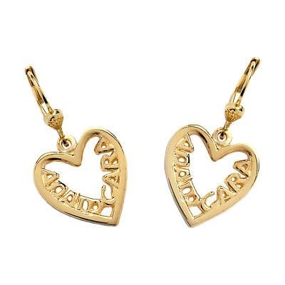 "Sterling Silver Anam Cara ""Soul Mate"" Pierced Earrings"