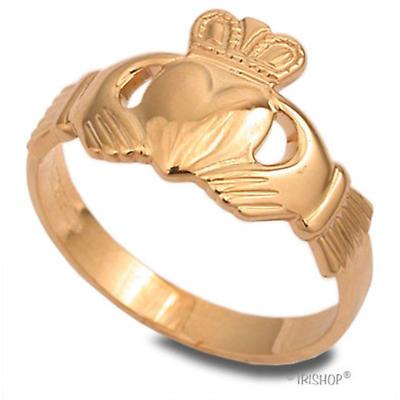 Claddagh Ring - Ladies 10k Gold Claddagh