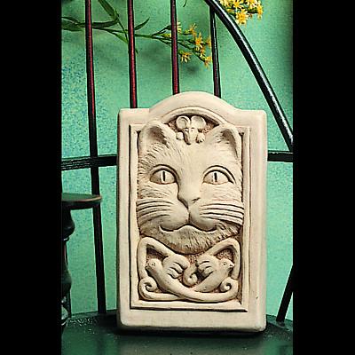 Celtic Cat Plaque