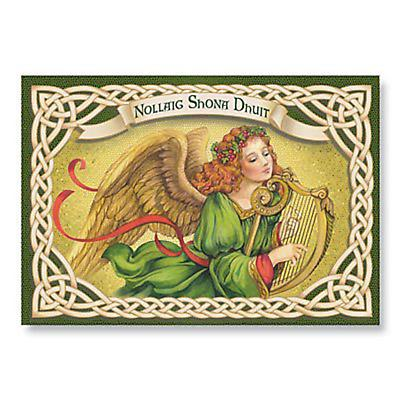 Irish Christmas - Irish Angel Christmas Cards