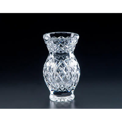 Irish Crystal 9 inch Oak Vase