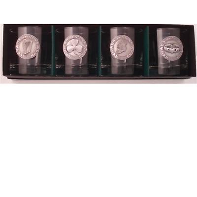 Irish Heritage Lowball Glasses - Set of 4