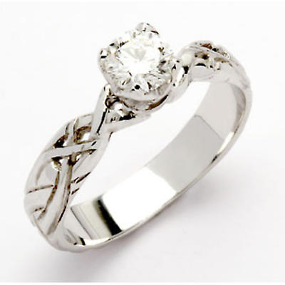18k Livia Solitaire with .25 Diamond