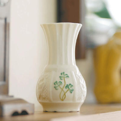 """Belleek Vase - 4.75"""" Nadine Spill"""