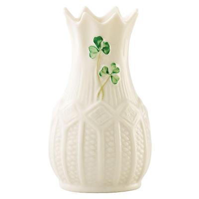 "Belleek Vase - 4"" Mini Cashel"