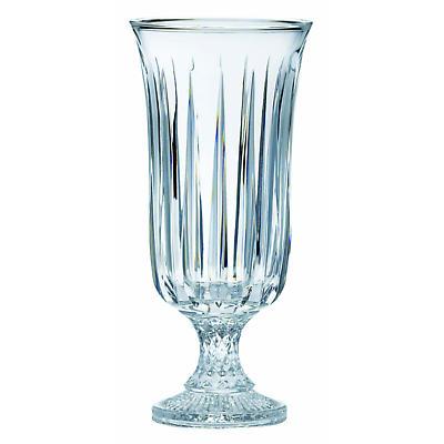 """Galway Crystal Clara 14"""" Footed Vase"""