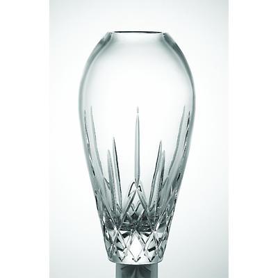 """Galway Crystal Longford 14"""" Tulip Vase"""