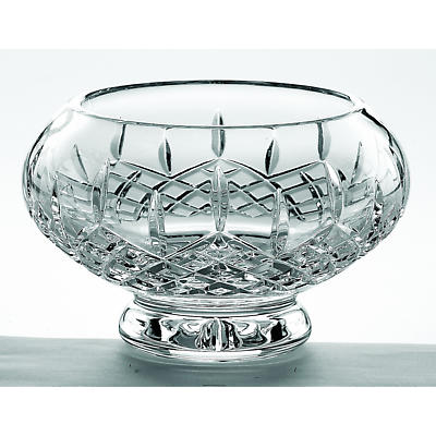 """Galway Crystal Longford 8"""" Footed Bowl"""