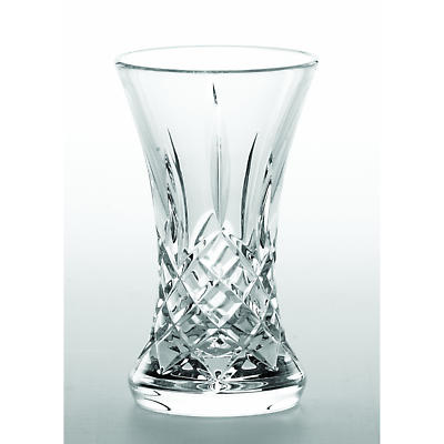 """Galway Crystal Longford 5"""" Waisted Vase"""