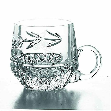 Galway Crystal Christening Mug