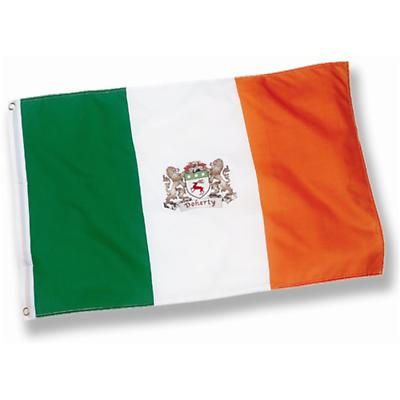 Personalized Coat of Arms 3' x 5' Ireland Flag