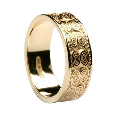 Irish Ring - Men's Newgrange Irish Wedding Band