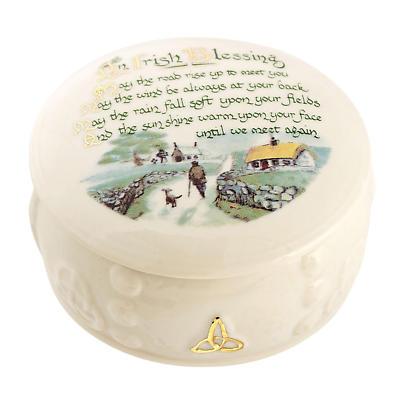 Belleek Irish Blessing Gift Box