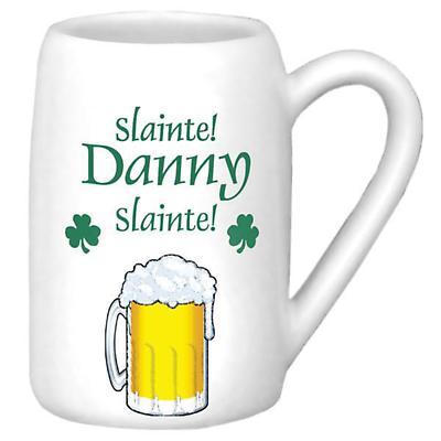 Personalized 22 oz. Slainte Beer Stein