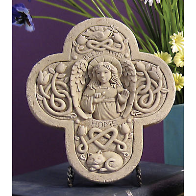 Bless This Home Celtic Plaque