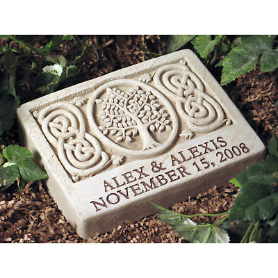 Personalized Celtic Tree Stone